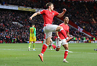 Josh Davidson celebrates during Charlton Athletic vs West Bromwich Albion, Sky Bet EFL Championship Football at The Valley on 11th January 2020