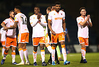 Blackpool Applaud the crowd at the end of todays match<br /> <br /> Photographer Rachel Holborn/CameraSport<br /> <br /> The EFL Sky Bet League One - Gillingham v Blackpool - Tuesday 6th November 2018 - Priestfield Stadium - Gillingham<br /> <br /> World Copyright &copy; 2018 CameraSport. All rights reserved. 43 Linden Ave. Countesthorpe. Leicester. England. LE8 5PG - Tel: +44 (0) 116 277 4147 - admin@camerasport.com - www.camerasport.com