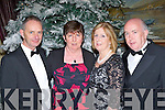 Jimmy and Helena Farrell with Margaret and Liam Hayes Kenmare seeing in the New Year at the Malton Hotel on Saturday night......
