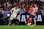 Jorge Resurreccion 'Koke' of Atletico de Madrid and Gareth Bale of Real Madrid during La Liga match between Atletico de Madrid and Real Madrid at Wanda Metropolitano Stadium in Madrid, Spain. September 28, 2019. (ALTERPHOTOS/A. Perez Meca)