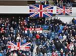 Rangers fans begin to enter the stadium before kick-off