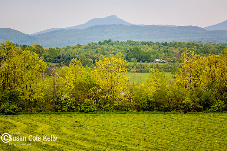 View of the Camel's Hump from Hinesburg, VT