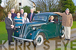 The Leslie family from Kilcummin with their fully restored Ford car which has existed for four generations of the family l-r: Annette O'Neill, Eamon Leslie, Mairead Cronin, John Joe Courtney (representing his mother Chris Courtney), Kathleen O'Connell, Michael Leslie, James Leslie and Sean Leslie....