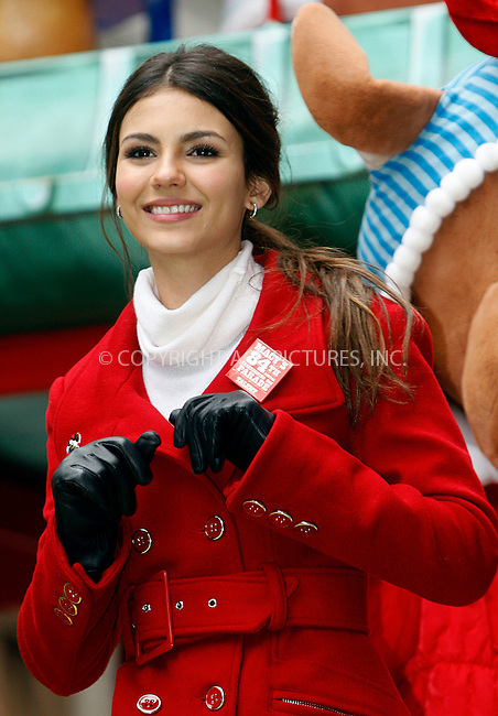 WWW.ACEPIXS.COM . . . . .  ....November 25 2010, New York City....Singer and actress Victoria Justice at the 84th Macy's Thanksgiving Day Parade on November 25, 2010 in New York City.....Please byline: NANCY RIVERA- ACEPIXS.COM.... *** ***..Ace Pictures, Inc:  ..Tel: 646 769 0430..e-mail: info@acepixs.com..web: http://www.acepixs.com