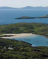 Derrynane Strand outside Caherdaniel in County Kerry.<br /> Picture by Don MacMonagle