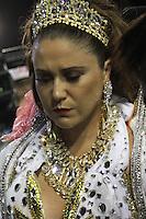 SÃO PAULO, SP, 15.02.2015  CARNAVAL 2015  SÃO PAULO  GRUPO ESPECIAL / VAI VAI  Maria Rita da escola de samba Vai Vai durante concentração do grupo especial do Carnaval de São Paulo, na madrugada deste domingo, (15). (Foto: Marcos Moraes/ Brazil Photo Press).