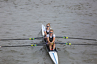 Crew: 165  Reading University Boat Club - W 2x Championship<br /> <br /> Pairs Head 2019<br /> <br /> To purchase this photo, or to see pricing information for Prints and Downloads, click the blue 'Add to Cart' button at the top-right of the page.