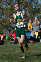 With his sister already having run the GIrls Class 1 race, Zalma senior Alexander Steinberg runs to a 15th-place finish and All-State honors at the 2015 MSHSAA State Cross Country Championships.