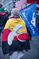 2015/12/12 Berlin | Rechte | Querfront | Gegen Syrienkrieg