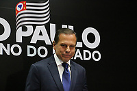 SÃO PAULO, SP, 13.02.2019: SEGURANÇA-SP: João Doria, Governador de São Paulo, e a cúpula da segurança pública do Estado concedem coletiva de imprensa sobre transferência de presos, nesta quarta-feira, 13. (Foto: Charles Sholl/Brazil Photo Press)
