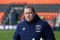 West Ham United womens manager Matt Beard during Tottenham Hotspur Women vs West Ham United Women, Barclays FA Women's Super League Football at the Hive Stadium on 12th January 2020