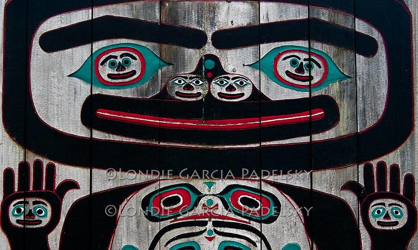 Tlingit Tribal House, Wrangell Island, Southeast Alaska
