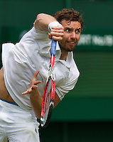 England, London, 23.06.2014. Tennis, Wimbledon, Ernest Gulbis (LAT)<br /> Photo:Tennisimages/Henk Koster