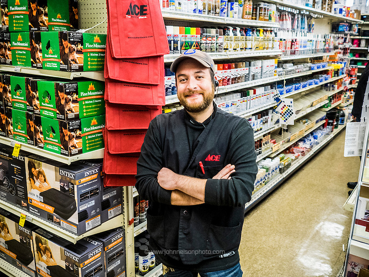 Bill Carroll, Lake Station resident and manager of a local Ace Hardware store.