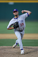August 30 2009: Ben Hornbeck of the Stockton Ports during game against the Rancho Cucamonga Quakes at The Epicenter in Rancho Cucamonga,CA.  Photo by Larry Goren/Four Seam Images