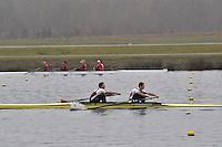 041 MarlowRC SEN.2‐..Marlow Regatta Committee Thames Valley Trial Head. 1900m at Dorney Lake/Eton College Rowing Centre, Dorney, Buckinghamshire. Sunday 29 January 2012. Run over three divisions.