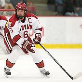 Ryan Grimshaw (Harvard - 6) - The Harvard University Crimson defeated the visiting Colgate University Raiders 4-2 on Saturday, November 12, 2011, at Bright Hockey Center in Cambridge, Massachusetts.