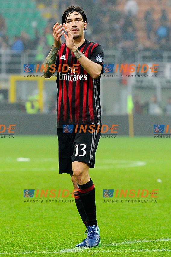 Alessio Romagnoli Milan<br /> Milano 30-10-2016 Stadio Giuseppe Meazza - Football Calcio Serie A Milan - Pescara. Foto Giuseppe Celeste / Insidefoto