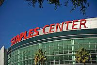Los Angeles CA, Staples Center