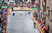 Rémi Cavagna (FRA/Deceuninck - QuickStep) on his way to a stage win<br /> <br /> Stage 19: Ávila to Toledo (165km)<br /> La Vuelta 2019<br /> <br /> ©kramon