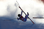 Brice Roger competes during the FIS Alpine Ski World Cup Men's Super-G in Val Gardena, on December 18, 2015. www.pierreteyssot.com