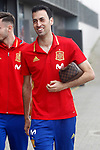 Spain's Sergio Busquets after training session. March 21,2017.(ALTERPHOTOS/Acero)