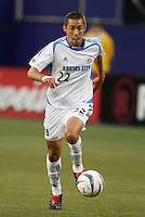 The Wizard's Davy Arnaud. The Kansas City Wizards were defeated by  the NY/NJ MetroStars to a 1 to 0 at Giant's Stadium, East Rutherford, NJ, on May 30, 2004.