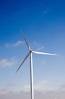Giant wind turbines, southwestern Wyoming