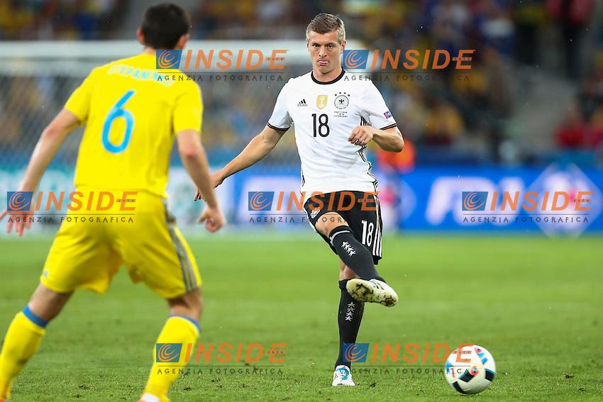 Toni Kroos (Germany) <br /> Lille 12-06-2016 Stade Pierre Mauroy Football Euro2016 Germany - Ukraine / Germania - Ucraina Group Stage Group C. Foto Gwendoline Le Goff / Panoramic / Insidefoto