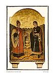 Icon, esglesia de Sant Pere, Petra, Mallorca, Spain by Larry Angier.
