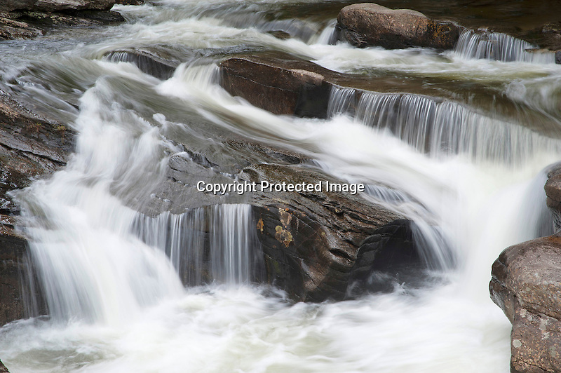 Cascading Pollards Mills Waterfall