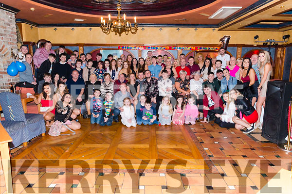 Conor Randall and John Harrington from Killarney celebrated their 21st birthday surrounded by friends and family in the Avenue Hotel, Killarney last Saturday night.