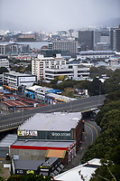 Wellington CBD during quarantine lockdown for COVID19 pandemic in Wellington, New Zealand on Thursday, 2 April 2020. Photo: Dave Lintott / lintottphoto.co.nz