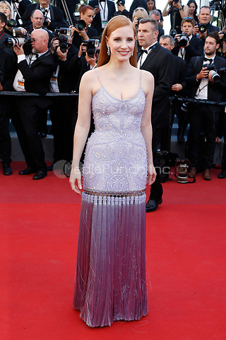 "Jessica Chastain at the ""Okja"" premiere during the 70th Cannes Film Festival at the Palais des Festivals on May 19, 2017 in Cannes, France. (c) John Rasimus /MediaPunch ***FRANCE, SWEDEN, NORWAY, DENARK, FINLAND, USA, CZECH REPUBLIC, SOUTH AMERICA ONLY***"