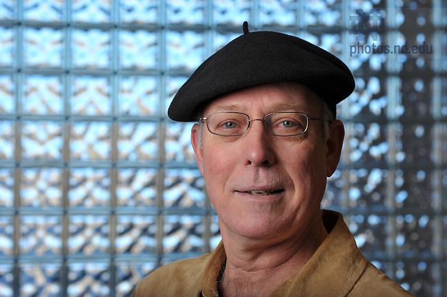 Professor Eugene Halton..Photo by Matt Cashore/University of Notre Dame