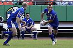 30 April 2005: Kansas City's Cody Weigman. The Kansas City Blues defeated the Philadelphia Whitemarsh RFC 41-14 at the Arrowhead Stadium in Kansas City, Missouri in a Rugby Super League regular season game. .