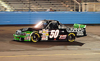 Nov. 13, 2009; Avondale, AZ, USA; NASCAR Camping World Truck Series driver Wheeler Boys during the Lucas Oil 150 at Phoenix International Raceway. Mandatory Credit: Mark J. Rebilas-