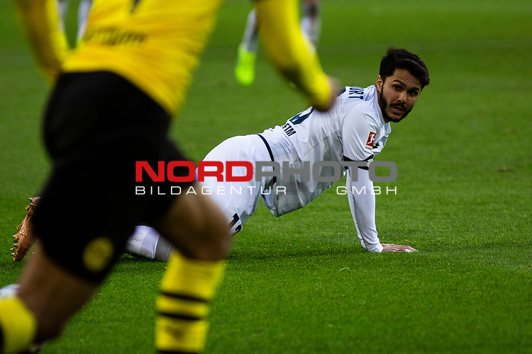 09.02.2019, Signal Iduna Park, Dortmund, GER, 1.FBL, Borussia Dortmund vs TSG 1899 Hoffenheim, DFL REGULATIONS PROHIBIT ANY USE OF PHOTOGRAPHS AS IMAGE SEQUENCES AND/OR QUASI-VIDEO<br /> <br /> im Bild | picture shows:<br /> Leonardo Bittencourt (Hoffenheim #13),  <br /> <br /> Foto © nordphoto / Rauch