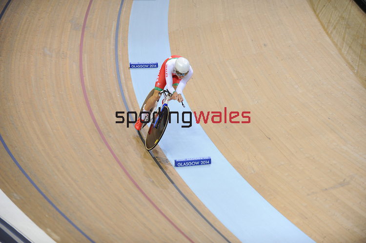 Wales Owain Doull in his bronze medal place heat <br /> <br /> Photographer Ian Cook/Sportingwales<br /> <br /> 20th Commonwealth Games - Track Cycling -  Day 2 - Friday 25th July 2014 - Glasgow - UK
