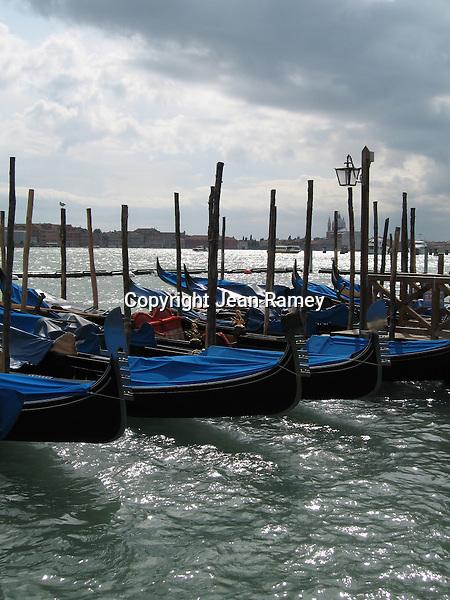 Gondolas - Venice