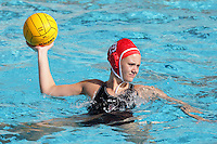 17 February 2008: Allie Gerrity during Stanford's 10-5 win over UC Davis at the Avery Aquatic Center in Stanford, CA.