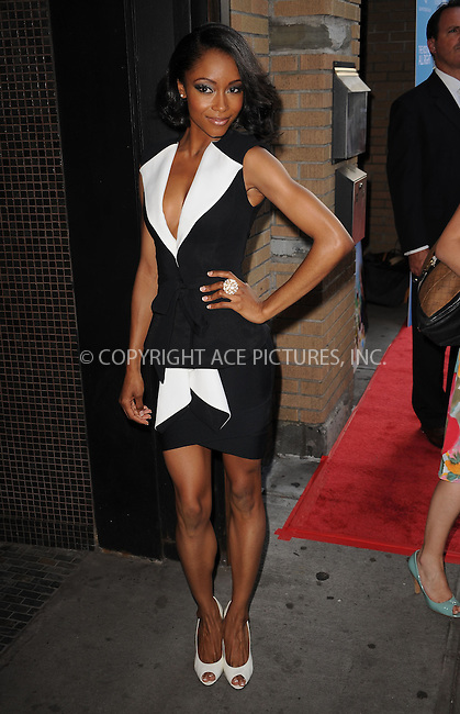 WWW.ACEPIXS.COM . . . . . ....June 30 2010, New York City....Actress Yaya DaCosta arriving at the premiere of the 'Kids Are All Right' at Landmark's Sunshine Cinema on June 30, 2010 in New York City....Please byline: KRISTIN CALLAHAN - ACEPIXS.COM.. . . . . . ..Ace Pictures, Inc:  ..(212) 243-8787 or (646) 679 0430..e-mail: picturedesk@acepixs.com..web: http://www.acepixs.com
