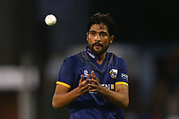 Mohammad Amir of Essex during Essex Eagles vs Middlesex, NatWest T20 Blast Cricket at The Cloudfm County Ground on 11th August 2017
