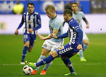 Deportivo Alaves' Theo Hernandez (r) and Celta de Vigo's Daniel Wass during Spanish Kings Cup semifinal 2nd leg match. February 08,2017. (ALTERPHOTOS/Acero)
