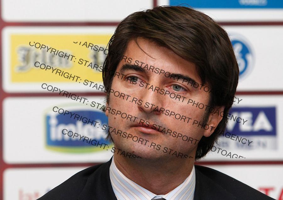 Fudbal, season 2008/09.Crvena Zvezda.Ilija Ivic, sport manager.Beograd, 12.17.2008..foto: Srdjan Stevanovic ©