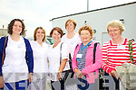 LOURDES: A group of carers departing Kerry Airport last Thursday on the annual Kerry pilgrimage to Lourdes, l-r: May O'Donoghue (Glenflesk), Margaret O'Mahony (Scartaglin), Margaret Payne (Listowel), Olive Cunningham (Killeedy, Co. Limerick), Maureen Healy (Glenflesk), Eileen Moran (Glenflesk).
