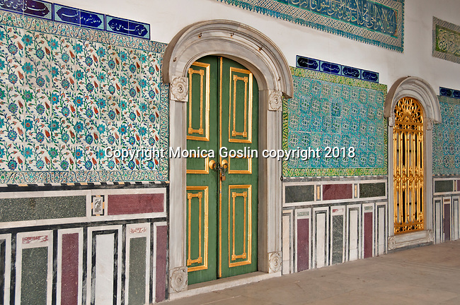 Topkapi Palace, the 15th century palace where sultans lived for 400 years