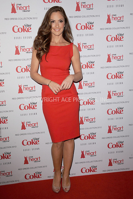 WWW.ACEPIXS.COM . . . . . .February 08, 2012...New York City....Minka Kelly attends the Heart Truth's Red Dress Collection 2012 Fashion Show at Hammerstein Ballroom on February 8, 2012 in New York City....Please byline: KRISTIN CALLAHAN - ACEPIXS.COM.. . . . . . ..Ace Pictures, Inc: ..tel: (212) 243 8787 or (646) 769 0430..e-mail: info@acepixs.com..web: http://www.acepixs.com .