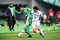 Yuki Kobayashi (Verdy), Kenta Komatsu (Matsumoto Yamaga),.MARCH 4, 2012 - Football / Soccer :.2012 J.League Division 2 match between Tokyo Verdy 2-0 Matsumoto Yamaga F.C. at Ajinomoto Stadium in Tokyo, Japan. (Photo by AFLO)
