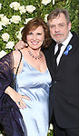 Marilou York and Mark Hamil attends the 71st Annual Tony Awards at Radio City Music Hall on June 11, 2017 in New York City.